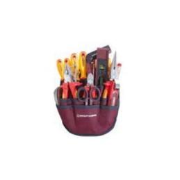 Jeu d'outils pour l'électricien trousse, 85 - 125 cm