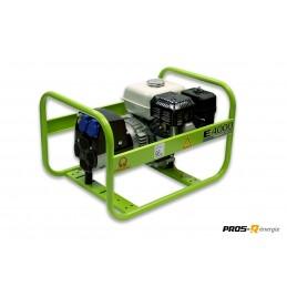 Groupe Électrogène portable PRAMAC E4000 - 230V 50HZ ESSENCE MONOPHASE MANUEL