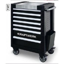 Servante d'atelier P407, EVA, avec outils 219 pièces - KRAFTWERK