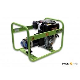 Groupe Électrogène portable PRAMAC E6500 6 230V 50HZ DIESEL MONOPHASE MANUEL