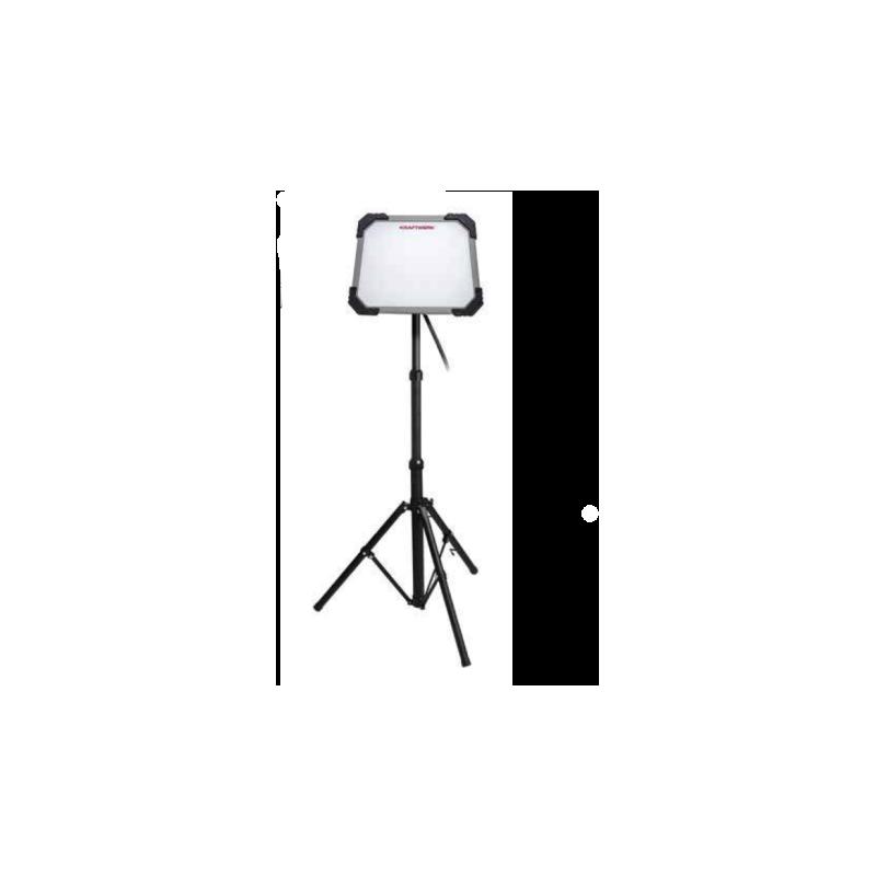 Lampe de travail LED T5000 avec trépied télescopique extensible