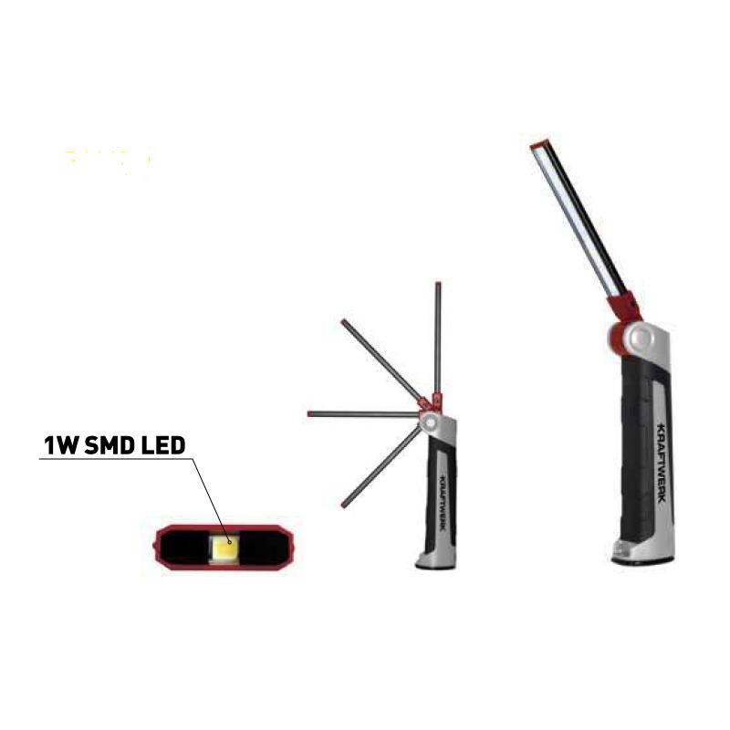 Lampe à LED SLIMFLEX, rechargeable
