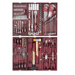 Servante d'atelier P207 avec outils, 150 pièces - KRAFTWERK
