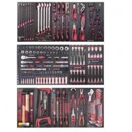 Servante d'atelier P407L avec outils, EVA, 273 pièces - KRAFTWERK