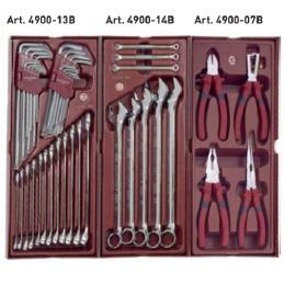 """Assortiment d'outils 1/4"""" + 1/2"""", 191 pièces- KRAFTWERK"""