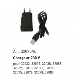 Chargeur IN AC 100-240V - OUT DC 5V/1A, micro-USB - KRAFTWERK