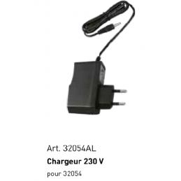 Chargeur pour lampe de poche 32054,  3.7 V 0.4 A 100-240 V - KRAFTWERK