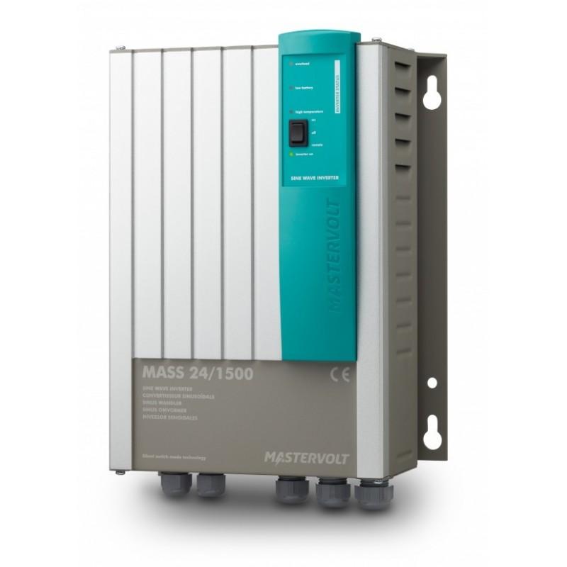 Convertisseurs Sinusoïdaux Mastervolt - Mass Sine Inverter 24V/1500W - 230V/50Hz