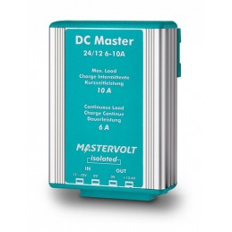 Convertisseur DC-DC Mastervolt - DC Master avec isolation galvanique 24V/12V - 10A/6A