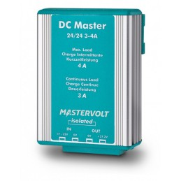 Convertisseur DC-DC Mastervolt - DC Master avec isolation galvanique 24V/24V - 4A/3A