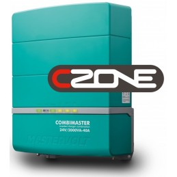 Combiné convertisseur/chargeur Mastervolt - CombiMaster 24V/2000VA-40A - 230V