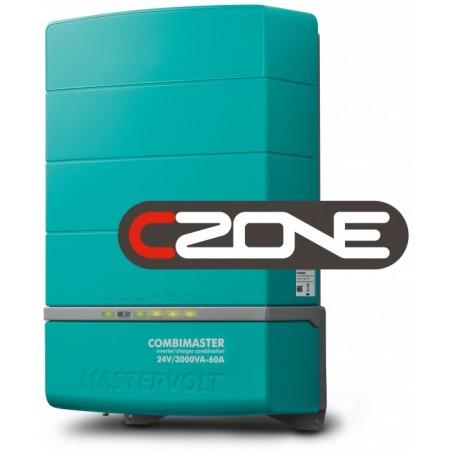 Combiné convertisseur/chargeur Mastervolt - CombiMaster 24V/3000VA-60A - 230V