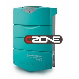 Chargeur de batterie Mastervolt - ChargeMaster Plus 12V/75A - 3 sorties