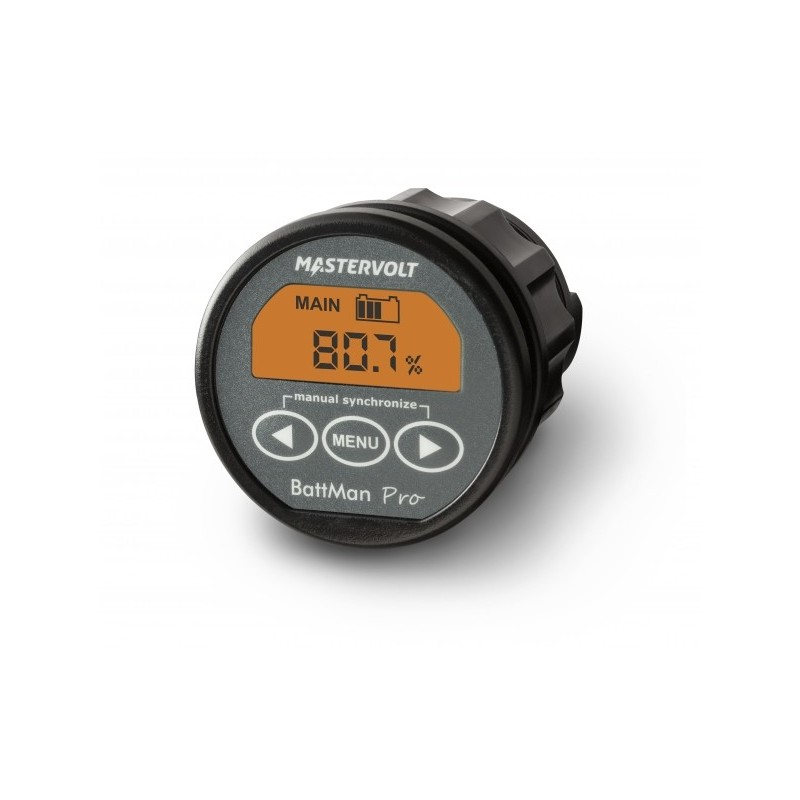 Contrôleur de batterie Mastervolt - BattMan Pro 12/24V