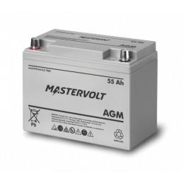Batterie Mastervolt - AGM 12V - 55Ah
