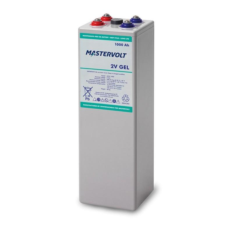 Batterie Mastervolt - MVSV GEL 2V - 1000Ah