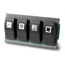 Platine 4 interrupteurs (pour disjoncteur Carling) 4 PCB - Mastervolt