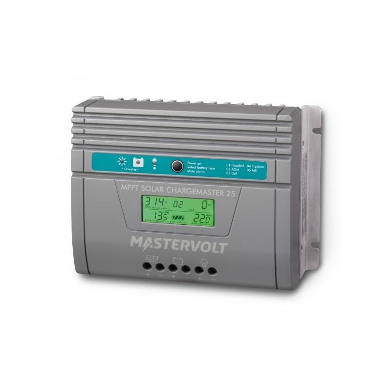 Régulateur de charge solaire Mastervolt - SCM25 MPPT - détection auto. 12/24V - 25A