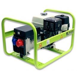 Groupe Électrogène portable PRAMAC E8000 TF - 400V  50HZ  ESSENCE TRIPHASE MANUEL