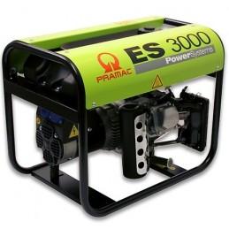 Groupe Électrogène portable PRAMAC ES3000 - 230V  50HZ  ESSENCE MONOPHASE MANUEL (2 versions : sans ou avec AVR)