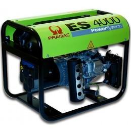 Groupe Électrogène portable PRAMAC ES4000 - 230V  50HZ  ESSENCE MONOPHASE MANUEL (2 versions : sans ou avec AVR)