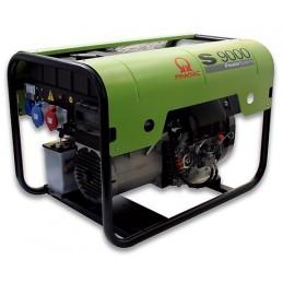 Groupe Électrogène portable PRAMAC S9000 TF - 400V 50HZ DIESEL TRIPHASE - ELECTRIQUE DPP + HEU