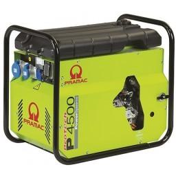 Groupe Électrogène portable PRAMAC P4500 - 230V 50HZ DIESEL MONOPHASE - ELECTRIQUE DPP + prise CONN