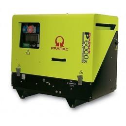 Groupe Électrogène portable PRAMAC P6000S TF - 400V 50HZ DIESEL TRIPHASE - ELECTRIQUE DPP + prise CONN