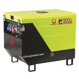Groupe Électrogène portable PRAMAC P9000 TF - 400V 50HZ DIESEL TRIPHASE - ELECTRIQUE DPP + prise CONN + AVR