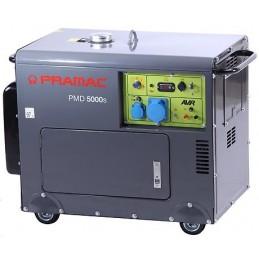 Groupe électrogène portable PRAMAC PMD 5000S - MONOPHASE Diesel Lifter Manuel/Electrique
