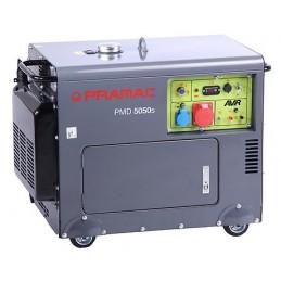 Groupe électrogène portable PRAMAC PMD5050S - TRIPHASE Diesel Lifter Manuel/Electrique