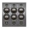 Tableau électrique à commutateurs Contour 1000 6 interrupteurs à bascule 16A - MARINCO BEP