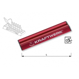 Rail magnétique Magalu en alu - de 115 mm à 300 mm - KRAFTWERK