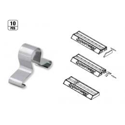 "10 clips de rail magnétique MAGALU - 1/4"" , 3/8"" ou 1/2"" - KRAFTWERK"