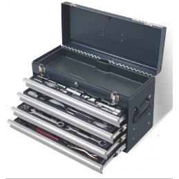 "Boîte à outils Basic-Line, 1/4"" + 1/2"", 100 pièces- KRAFTWERK"
