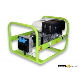 Groupe Électrogène portable PRAMAC E5000 - 230V 50HZ ESSENCE MONOPHASE MANUEL - Equipement E-RENTAL