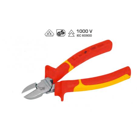 Pince coupante diagonale, VDE KW hightech - isolée 1000 V - 160 ou 180 mm - KRAFTWERK