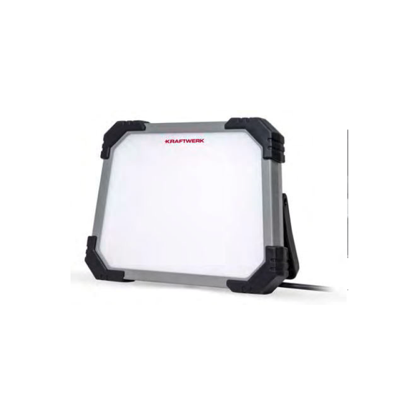 Baladeuse de travail LED T5000, 2 prises (Type E) - KRAFTWERK
