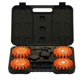 Lampe d'avertissement orange LED, rechargeable