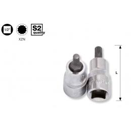 """Douille-embout à denture multiple XZN -1/2"""" - M5 à M16"""