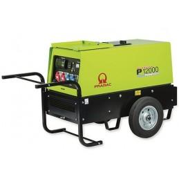 Groupe Électrogène portable PRAMAC P12000 - 400V 50HZ DIESEL TRIPHASE - ELECTRIQUE - 2 versions : IPP ou prise CONN