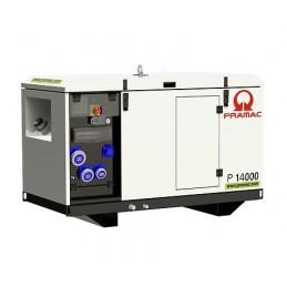 Groupe Électrogène portable PRAMAC P14000 - 400V 50HZ DIESEL TRIPHASE - AVR + MRS + DPP stage V