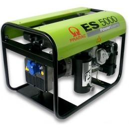 Groupe Électrogène portable PRAMAC ES5000 - 230V  50HZ  ESSENCE MONOPHASE MANUEL (2 versions : sans ou avec AVR)