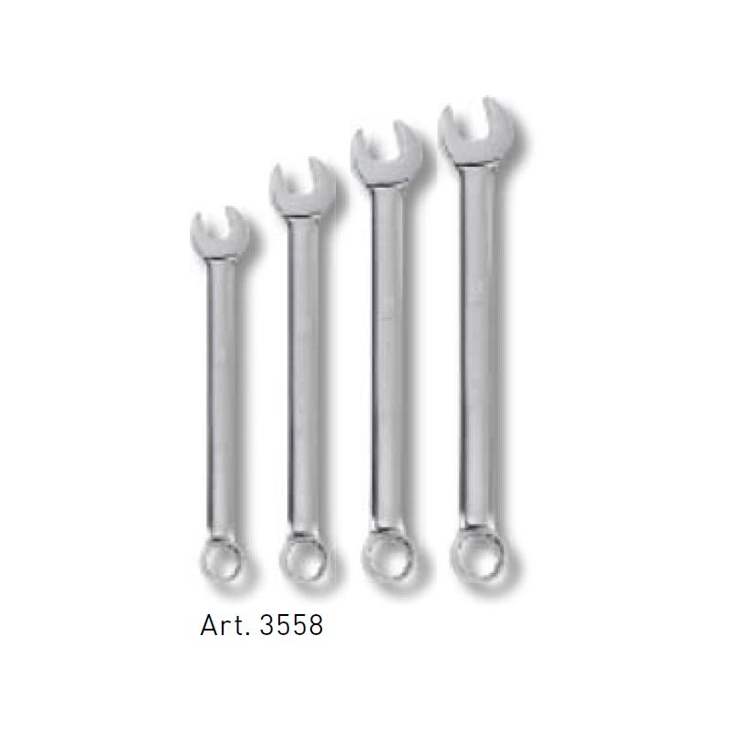 Jeu de 4 clés combinées polies miroir 24 à 32 mm - KRAFTWERK