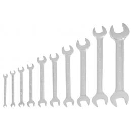 Jeu de 10 clés à fourche polies miroir 6 à 32 mm - KRAFTWERK