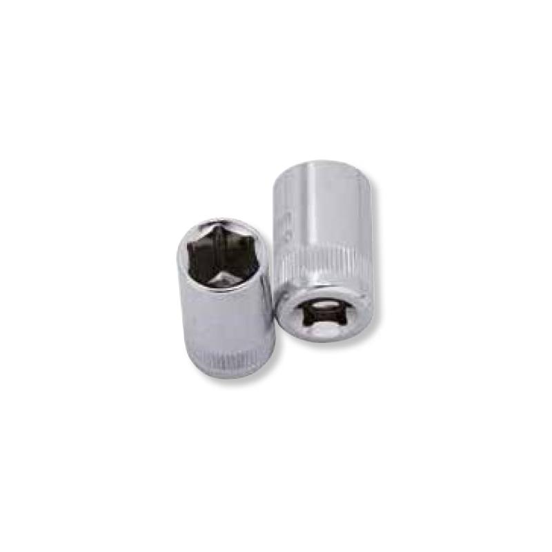 Douille 6 pans 1/4'' L. 25 mm - 3.5 à 14 mm - KRAFTWERK