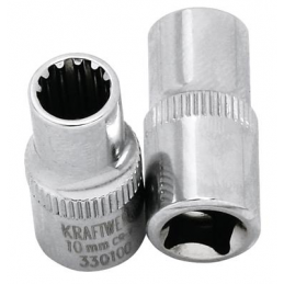 "Douille COMBI 1/2"" multi-empreinte - 10 à 32 mm - KRAFTWERK"