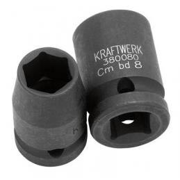 "Douille impact 1/2""  - 8 mm à 32 mm - KRAFTWERK"