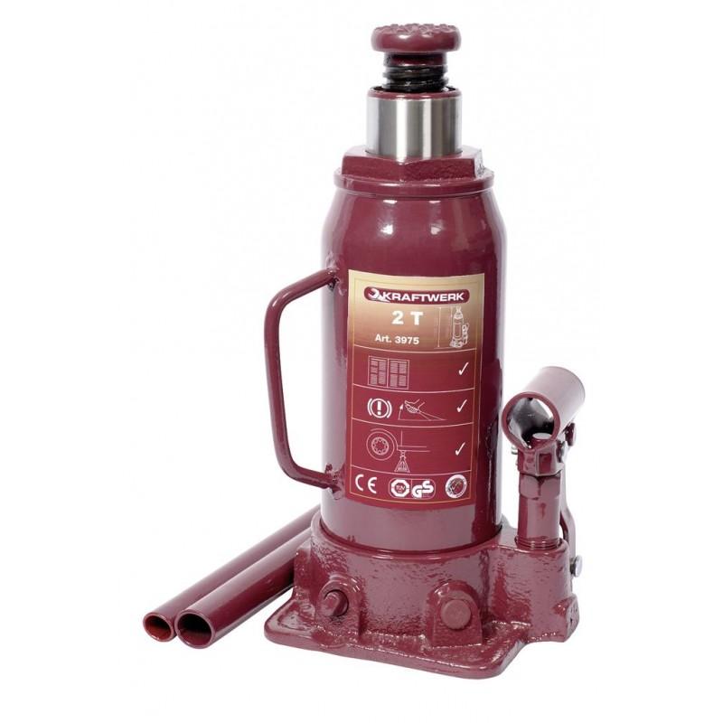 Cric bouteille hydraulique 2 t - KRAFTWERK