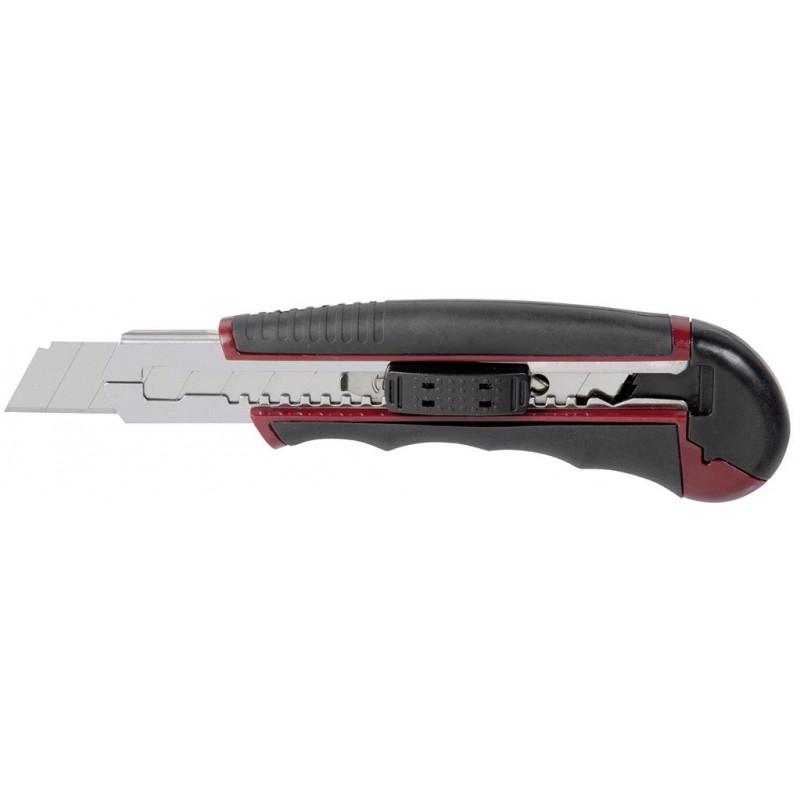Couteau à lame sécable avec lames de rechange, 165 mm, Ergokraft - KRAFTWERK